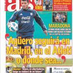 As: Aguero rimarrà a Madrid, nell'Atletico o ovunque sia…