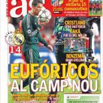 As: Euforici al Camp Nou