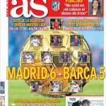 As: Madrid 6-Barcellona 5