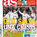 As: Ozil salva dalla crisi