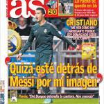"""As: """"Forse sono dietro Messi per la mia immagine"""""""