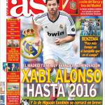 As: Xabi Alonso fino al 2016