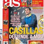 As: Casillas difende Mourinho