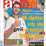 """AS, Higuain: """"Il mio obiettivo è fare 30 goal"""""""