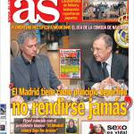 "As: ""Il Real Madrid non si arrende mai"""