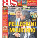 As: Pellegrini vs Mourinho