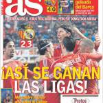AS: Asi se ganan las ligas!