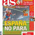 As: La Spagna non si ferma