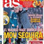 As: Il Real Madrid vuole che i giocatori seguano Mourinho