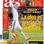 As: Higuain, due gol e un messaggio