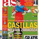 As: Casillas non va a Saragozza