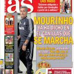 As: Mourinho ha detto a marzo che sarebbe andato via