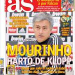 "As: ""Mourinho stufo di Klopp"""