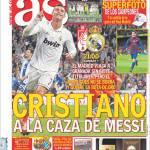 As: Cristiano a caccia di Messi