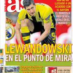 As: Lewandowski nel mirino