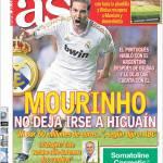 As: Mourinho non vuole perdere Higuain