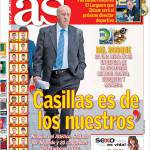 "As: ""Casillas è dei nostri"""