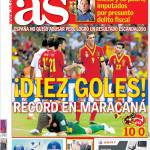 As: Dieci gol, record al Maracanà