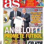 As: Ancelotti promette calcio