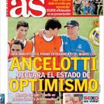 As: Ancelotti dichiara lo stato di ottimismo