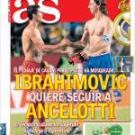 As: Ibrahimovic vuole seguire Ancelotti a Madrid