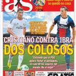 As: Cristiano contro Ibra, due colossi