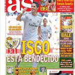 As: Isco è benedetto