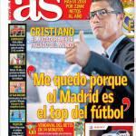 """As: """"Rimango perché il Real Madrid è il miglior club"""""""