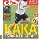 AS: Kakà ci sara a Getafe