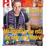 AS, Higuain: Non vedo l'ora di sapere cosa mi aspetta a Madrid