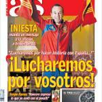 """As: Iniesta """"Combatteremo per voi"""""""