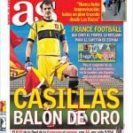 As: Casillas pallone d'oro