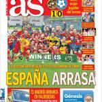 As: Spagna spazza tutto