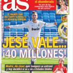 As: Jesé vale 40 milioni