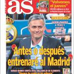 "As: ""Prima o poi allenerò il Real Madrid"""
