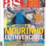 As: Mourinho l'invincibile