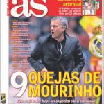 As: Le 9 denunce di Mourinho