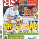 As: Cristiano, 409 minuti senza gol