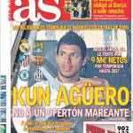 As: Aguero, no a un'offerta vertiginosa
