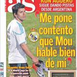 """As: Aguero """"Sono molto contento che Mourinho parla bene di me"""""""