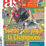 """As: """"Sogno di giocare la Champions"""""""
