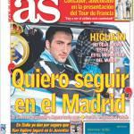 """As: """"Voglio restare al Real Madrid"""""""