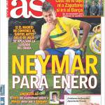 As: Neymar per gennaio