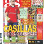 As: Casillas dovrà attendere