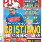 As: Cristiano Ronaldo contro l'effetto Messi