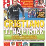 As: Ronaldo, 11 hat-trick