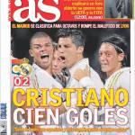 As: Cristiano 100 gol