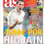 As: 49 milioni per Higuain