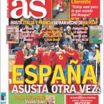 As: La Spagna torna a spaventare