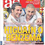 As: Higuain o Benzema